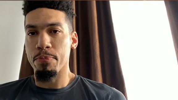 Danny Green describes how Lakers are handling hiatus