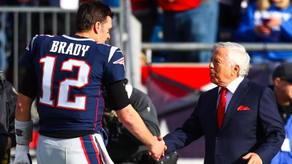 Brady opens up about departure from Patriots