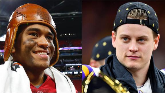 Joe Burrow and Tua Tagovailoa's top moments