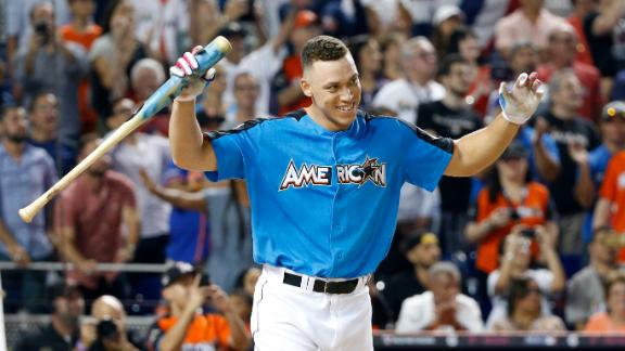 All of Aaron Judge's 500-plus-foot homers at the 2017 HR Derby