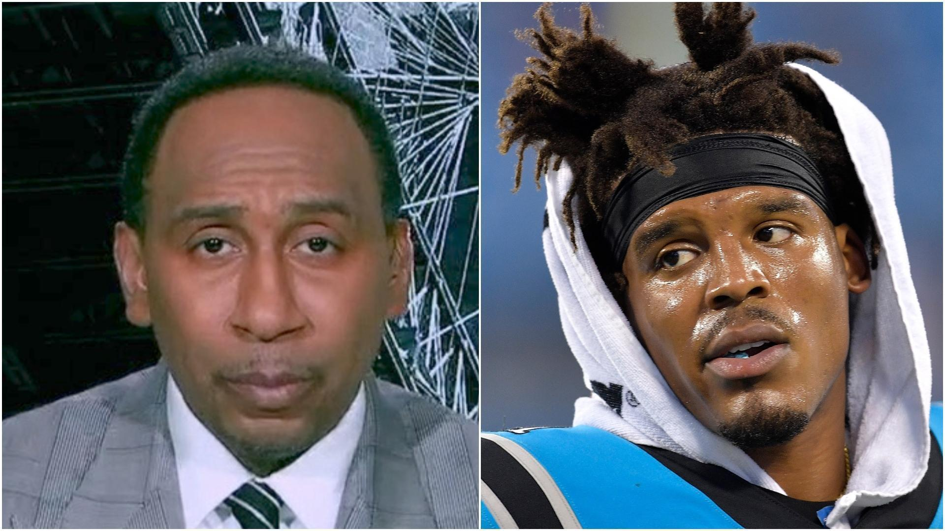 Why Stephen A. isn't surprised by Panthers' decision to release Newton
