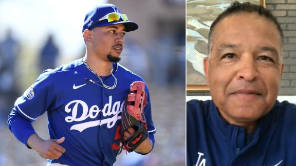 Roberts: Betts is already making an impact on Dodgers