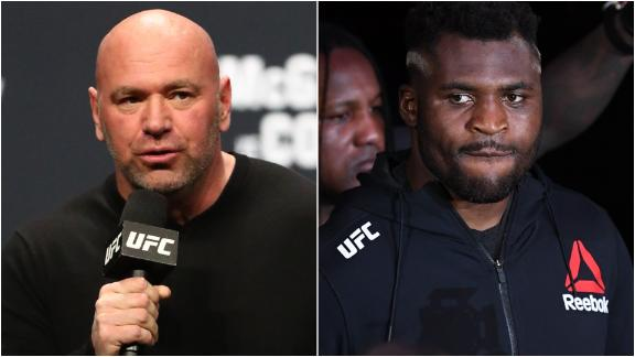 Dana White says Ngannou-Rozenstruik could be moved to UFC 249