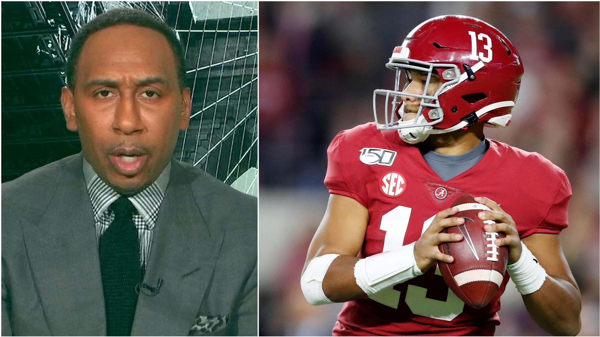 Why Stephen A. doesn't think the Bengals should draft Tua