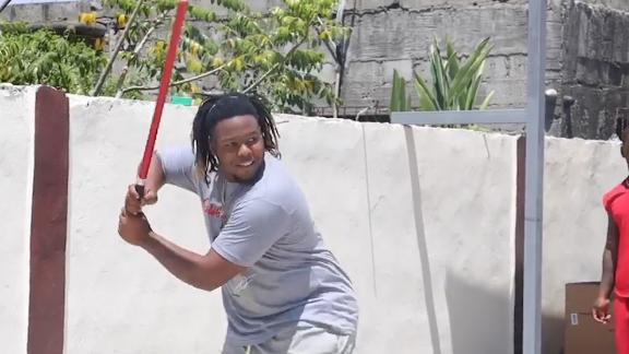 Vlad Jr. is getting home run swings in at all costs