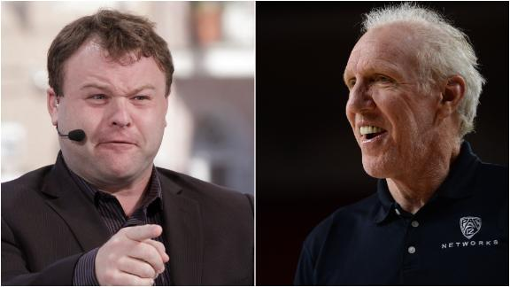 Frank Caliendo does his best Bill Walton impersonation