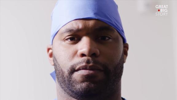 How former NFL DB Dr. Myron Rolle is helping in the COVID-19 fight