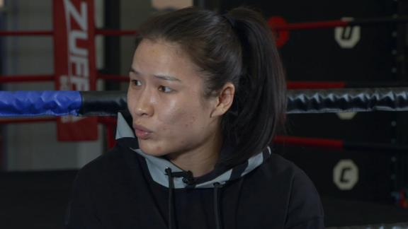 Zhang Weili chronicles her journey as an MMA fighter