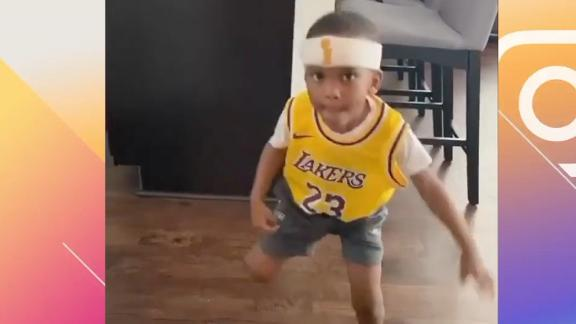 This might be the best LeBron impersonation yet