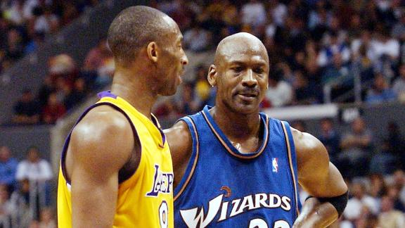 On this date: Kobe drops 55 on MJ, Wizards