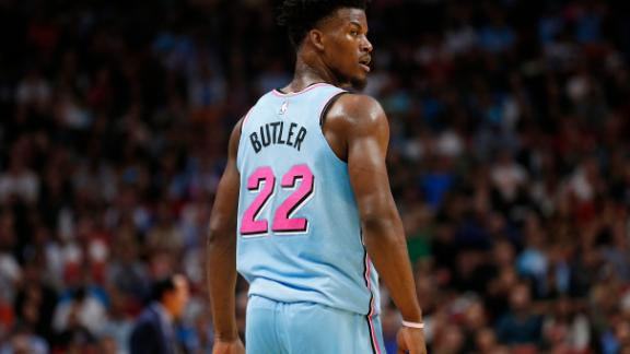 Jimmy Butler's been so Miami this season, here's the highlights