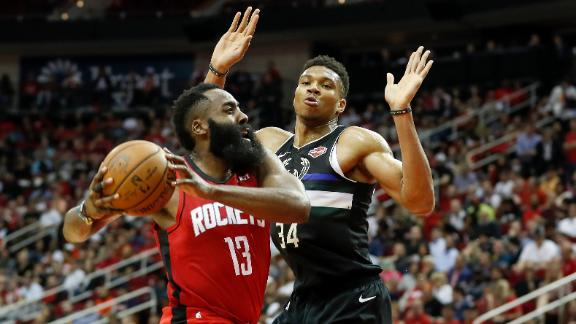 Is the beef between Giannis and Harden over?
