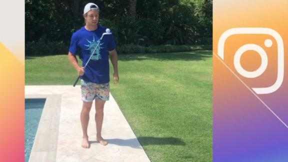 Rory McIlroy shows off his skills with the #tmbouncechallenge