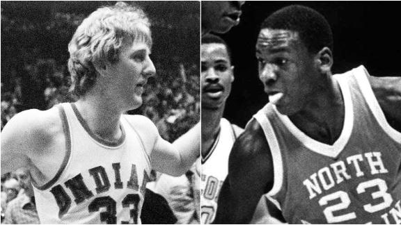 MJ or Bird: Who should be crowned college basketball's greatest?