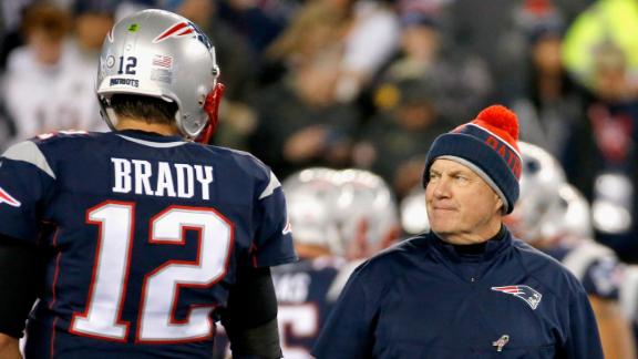 Why the numbers suggest Brady might have a clear advantage over Belichick