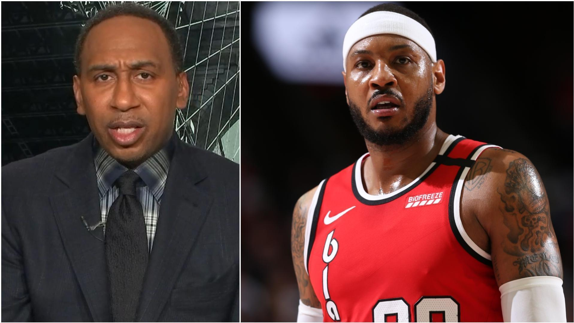 Why Stephen A. thinks Melo could have 2 rings