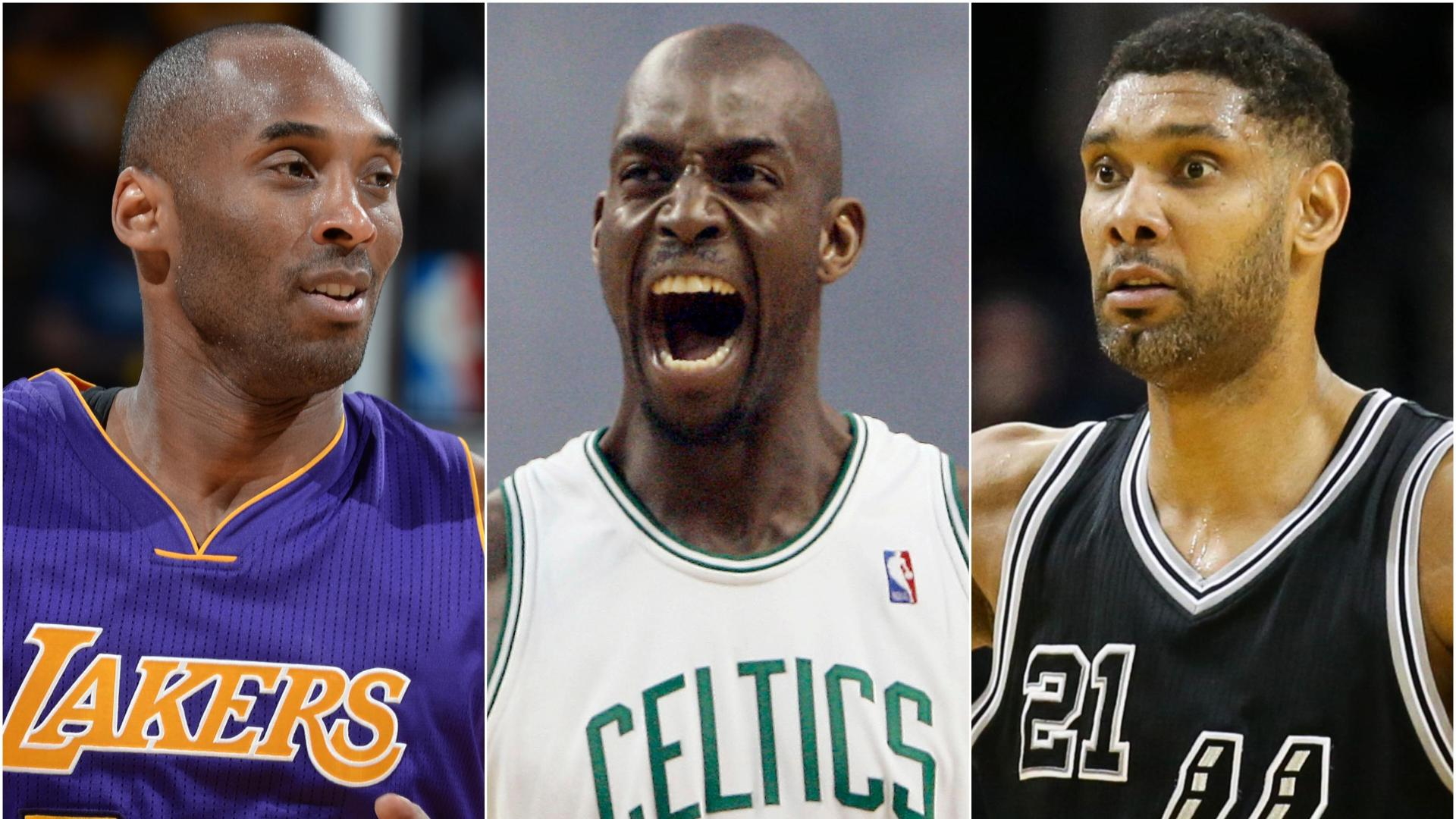 Are Kobe, KG and Duncan the best HOF trio to be inducted together?