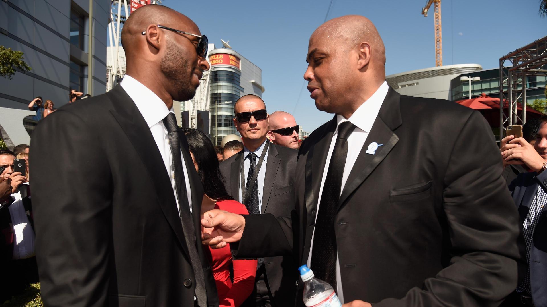 Charles Barkley calls Kobe the best player since MJ