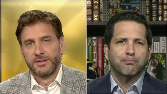 Greeny gets visibly frustrated with Schefter's Jets news