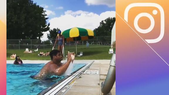 New Bucs OT Wirfs shows off impressive strength with pool jump