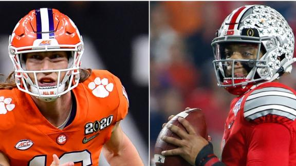 Kiper's top five draft prospects for 2021