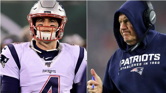 Is Belichick in a no-lose situation in 2020 with Stidham?