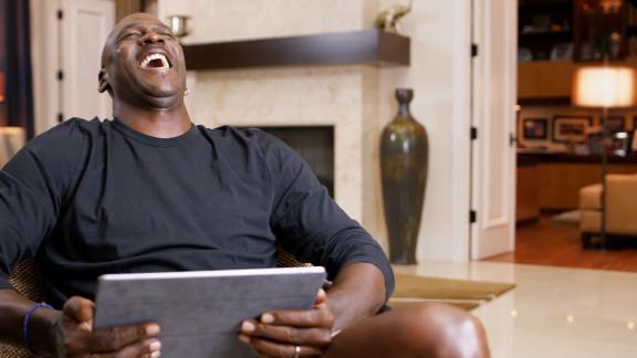 Jordan gets a good laugh at Gary Payton's NBA Finals claim