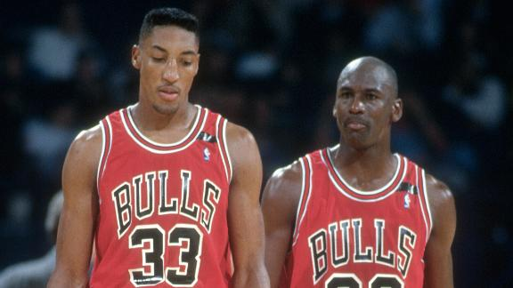 Would MJ's legacy be different without Pippen?