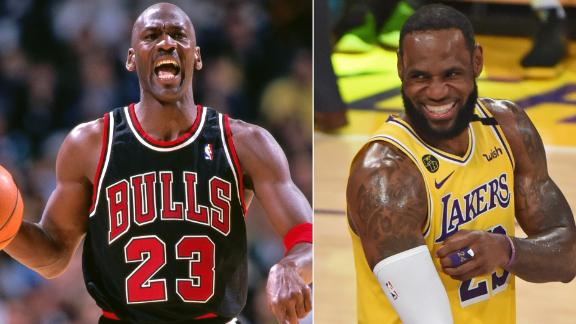 What LeBron has said about his 'superhero' MJ over the years