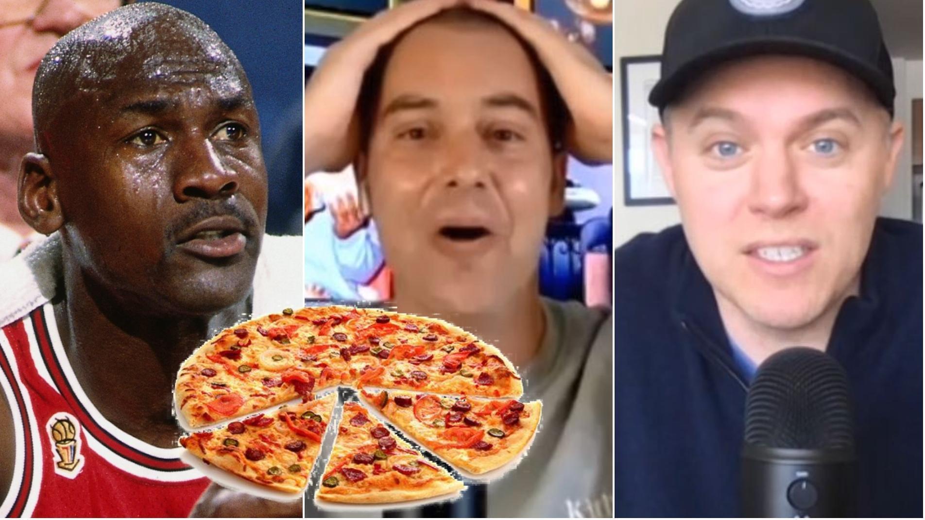 Michael Jordan spit on a pizza!?! - 'The Last Dance' director talks flu game