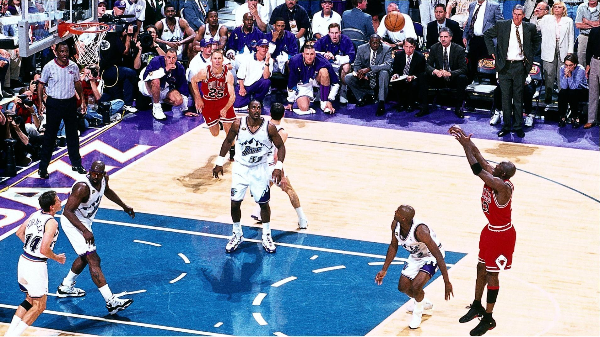 MJ's top 10 playoff moments