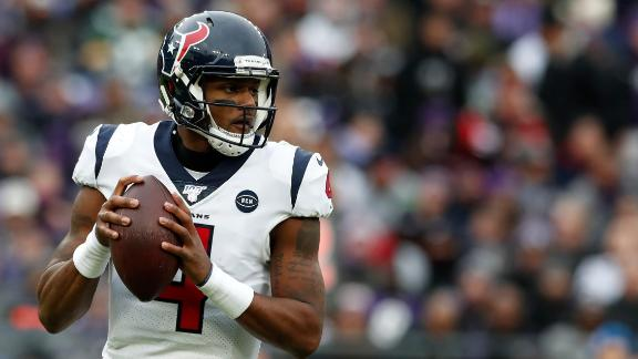 What are Watson's options for an extension with the Texans?