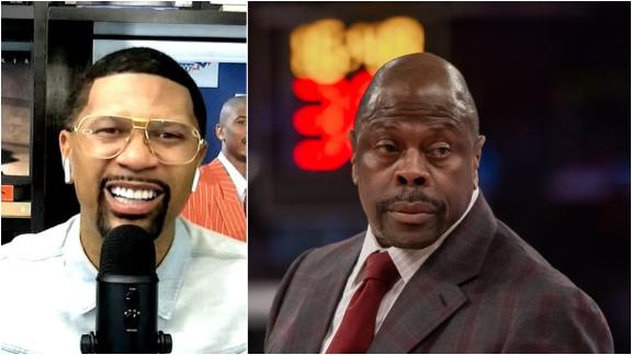 Jalen: Put some respect on Patrick Ewing's name