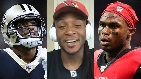 Where Hopkins ranks himself against NFL's elite WRs