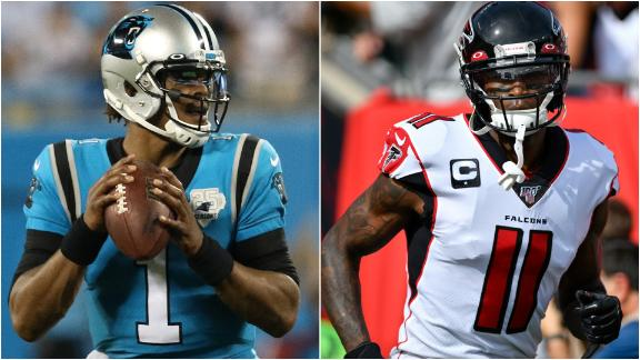 Which NFC South players made the all-decade cut?