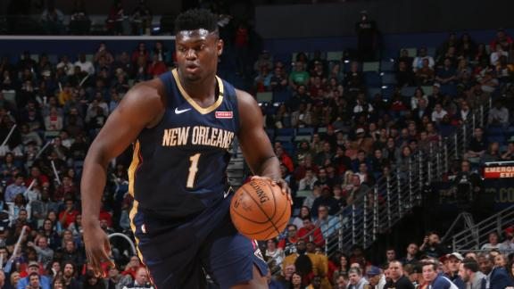 How should the Pelicans manage Zion's workload amid playoff push?