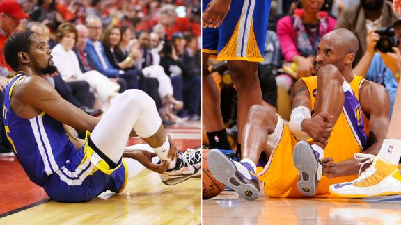 Kobe and KD part of NBA's Achilles injury fraternity