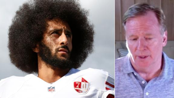 Goodell would support Kaepernick's return to the NFL