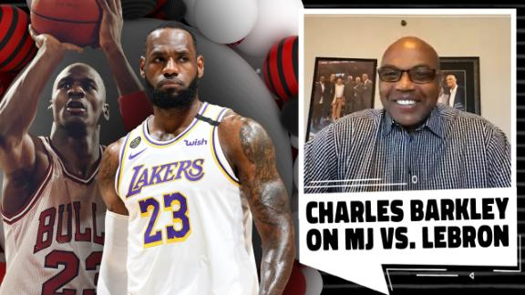 Charles Barkley talks MJ vs. LeBron