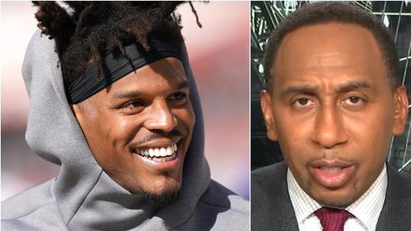 Stephen A. is confident Cam, Patriots will win the AFC East