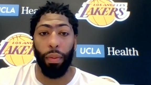 AD is more confident in Lakers' chance to win NBA title now