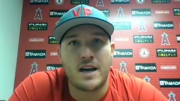 Trout not fully comfortable with MLB's plan