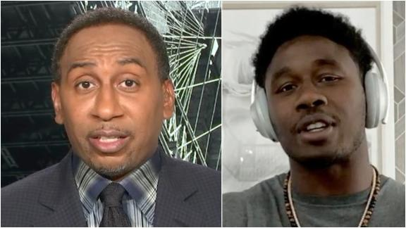 Stephen A., Watkins, Spears have spirited debate about Mahomes, Chiefs' future