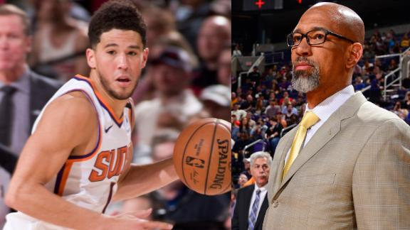 The Suns' no-pressure mindset inside the NBA bubble