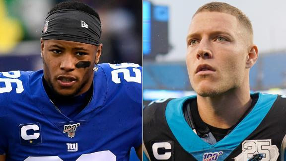 Why NFL executives ranked Barkley ahead of McCaffrey