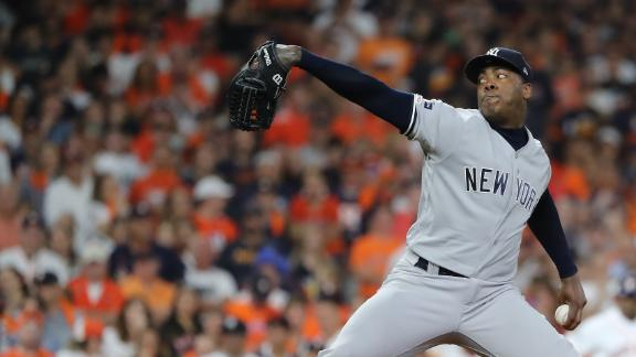 How Chapman's positive test affects the Yankees