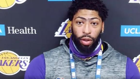 Why AD decided against a social injustice message on his jersey