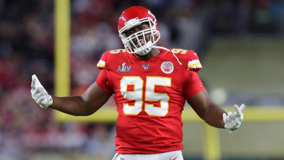 Chiefs lock up DT Chris Jones with four-year deal