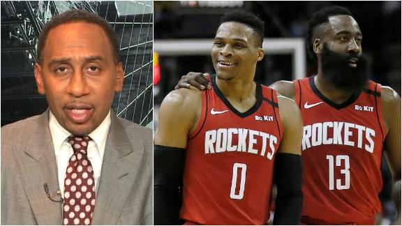Harden or Westbrook? Stephen A. picks the key to a Rockets title run