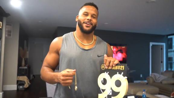 Aaron Donald remains in the Madden 99 Club for the fourth straight season